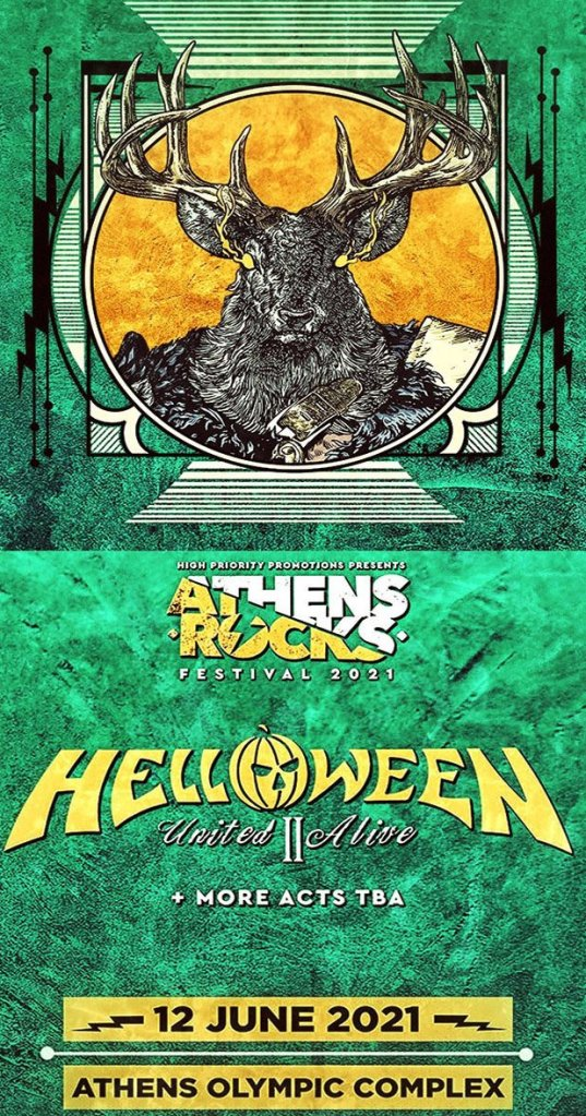 12/6/21 - Helloween @Athens Olympic Complex
